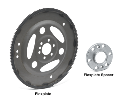 Crankshaft Spacer and Flexplate