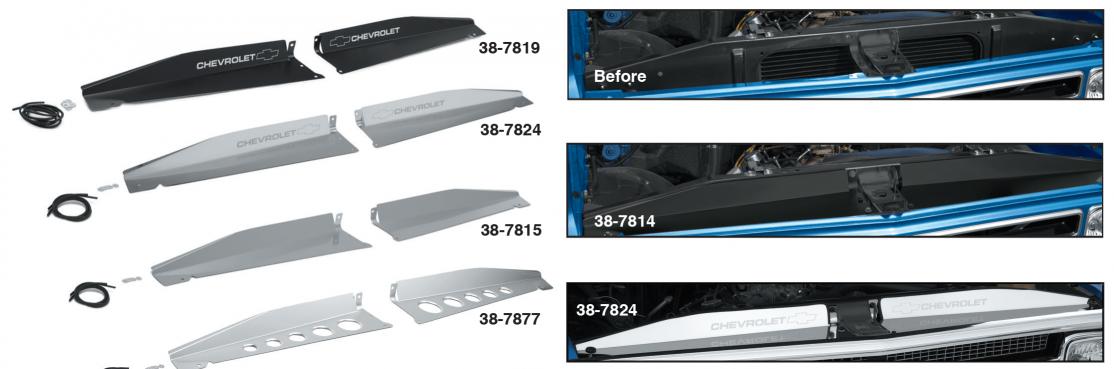 Core Support Filler Panel Set
