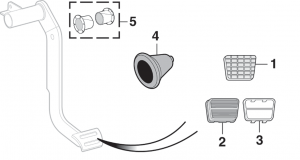 Brake Pedal Components