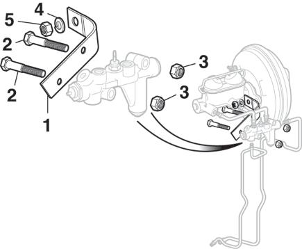 Disc Brake Proportioning Valve Components