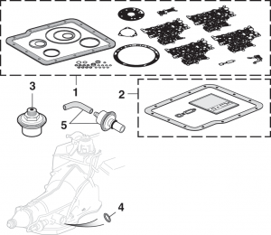 Transmission Gaskets and Filters