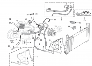 lmc truck: heater and ac components  lmc truck