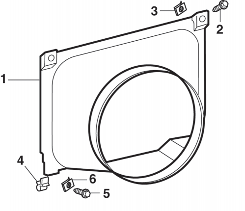 Radiator Shroud and Components