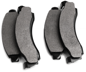 Performance Non-Asbestos Disc Brake Pad Set Provides High Braking Ability