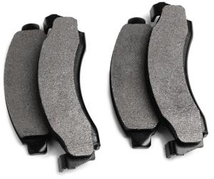 Performance Non-Asbestos Disc Brake Pad Set Provides High Braking Ability