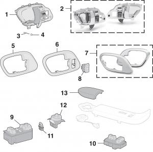 Front Door Handles and Components