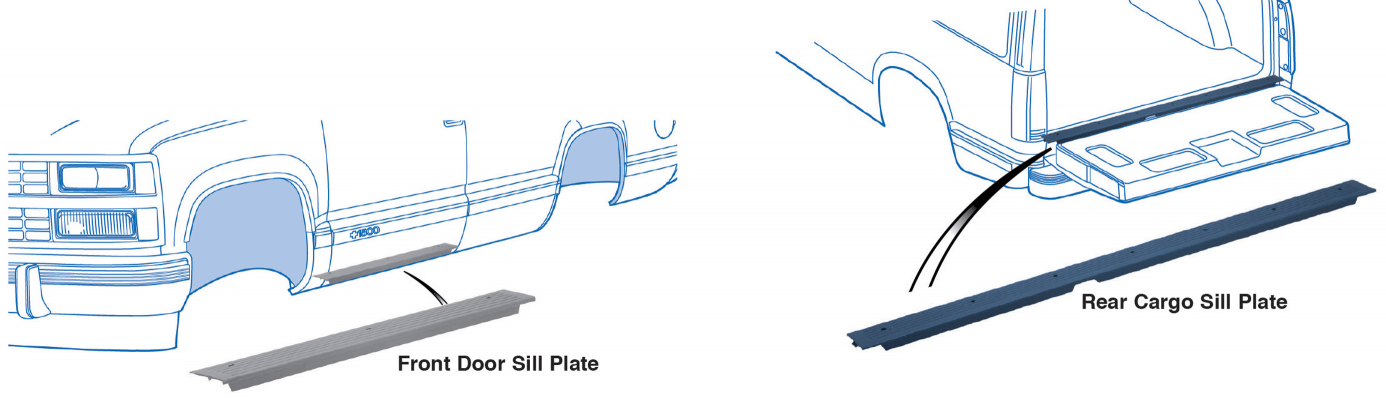 Door and Cargo Sill Plates