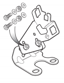 Throttle Cable Bracket