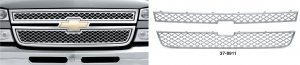 Chrome Grille Covers for Chevrolet