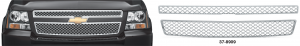Chrome Grille Cover for Chevrolet