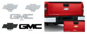 Billet Aluminum Tailgate and Liftgate Emblems