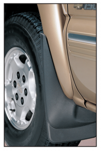 Custom Molded Mud Guards Protect Your Truck from Rock Chips