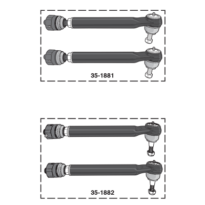 Heavy-Duty Tie Rod Sets