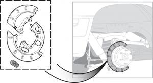 Rear Disc Brake Shield