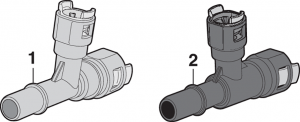 Auxiliary Heater Coolant Fittings