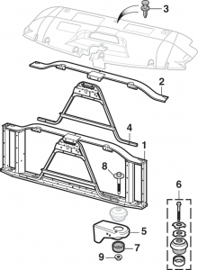 Grille and Radiator Support