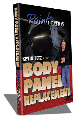 Kevin Tetz Paintucation DVD - Body Panel Replacement