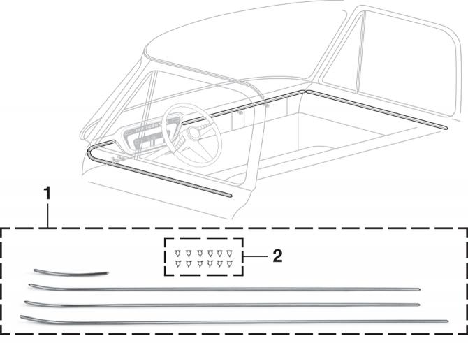 Dash / Door Trim Set