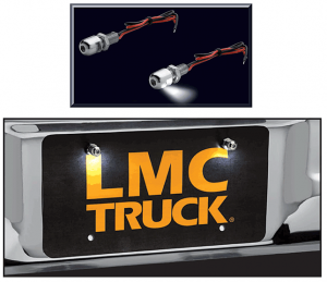 LED Bolt Set for Your License Plate