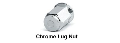 Chrome Lug Nut