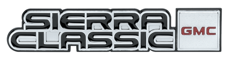 Dash Molding Emblem - Sierra  Classic