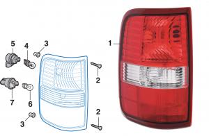 Styleside Tail Light