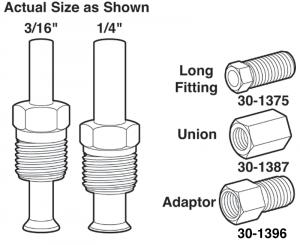 Steel Lines … Replace Worn Brake, Fuel, Cooling or Transmission Lines