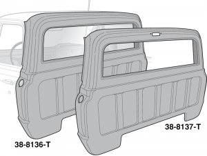 Large Window Rear Outer Panels