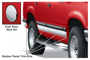 Custom Flexible Chrome Trim ... Design it – Cut it – Install it