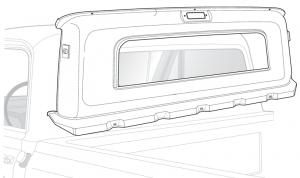 Small Window Inner Rear Panel