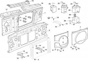 1973-89 Radiator Components