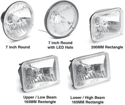 Custom Headlights for Dodge Vans