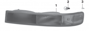 Parklight - Models with Sealed Beam or Composite Headlights