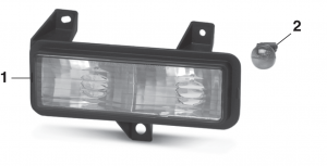 Parklight - Models with Dual Headlights