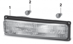 Parklight - Models with Composite Headlights