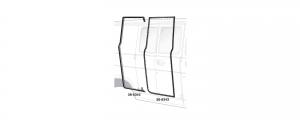 Side Cargo Door Rubber