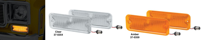 1973-80 LED Parklight Sets