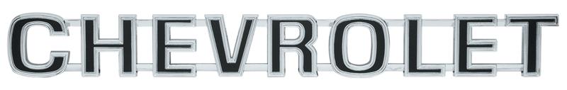 Chevrolet Tailgate Emblem