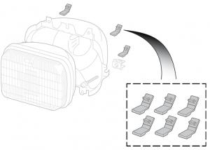Headlight Anti-Rattle Set