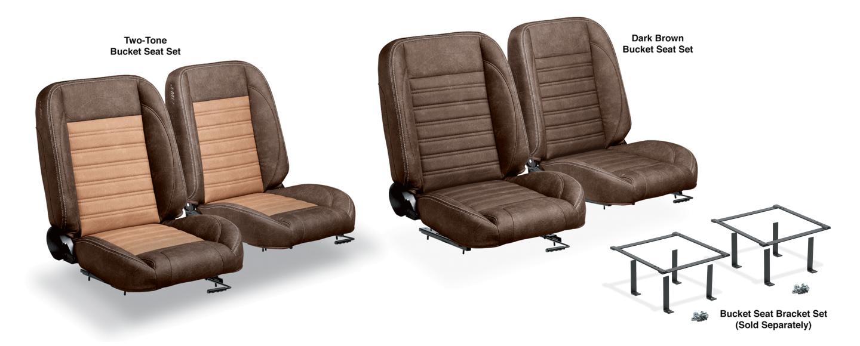 LMC Signature Series Front Bucket Seat Sets
