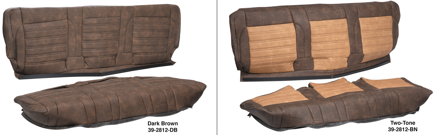 LMC Signature Series Rear Bench Seat Cover