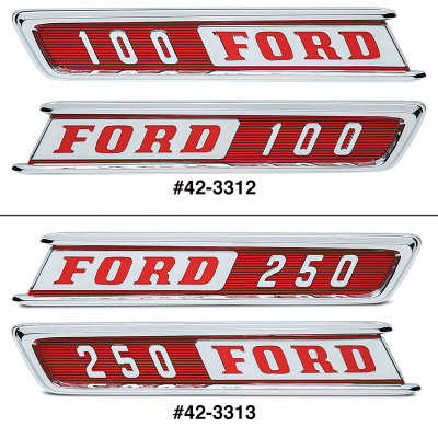Hood Side Emblems