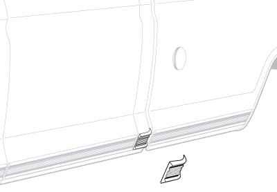 Lower Door Molding