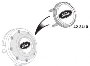 Horn Button Emblem - Ford