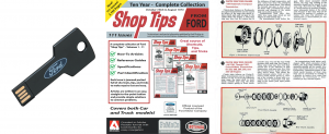 Ford Shop Tips Magazine - USB