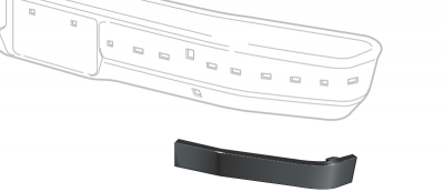 Outer Bumper Impact Strips