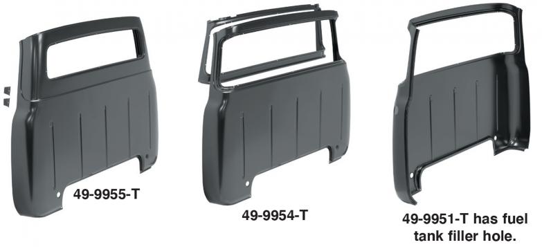 Cab Back Panels