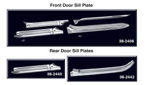 Crew Cab Door Sill Plate Sets