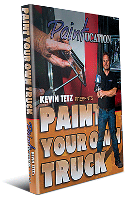 Kevin Tetz Paintucation DVD - Paint Your Own Truck