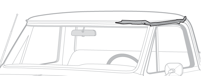 Side Roof Channel Kit